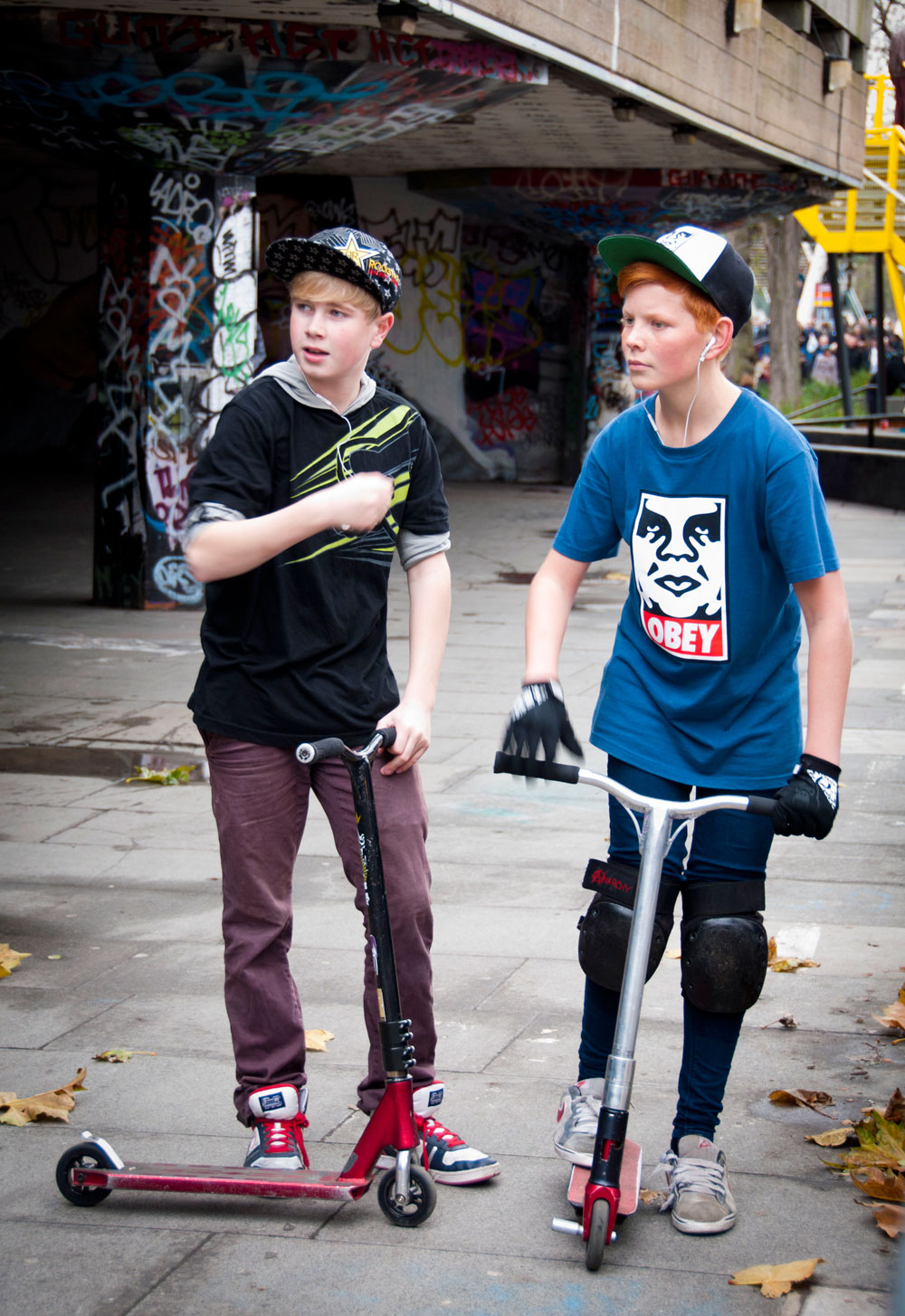 The London Bmx And Skater Look