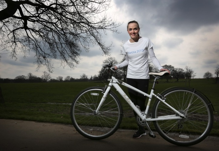 Victoria Pendleton OBE. Photo © Cycletta 2013