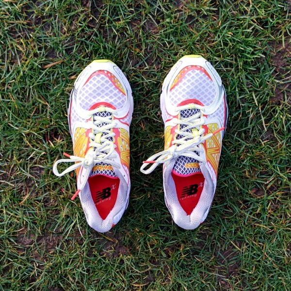 New Balance 1080v3. Light, neutral support, cheap, but gets the writer moving fast. © Z Holmes/GLUE