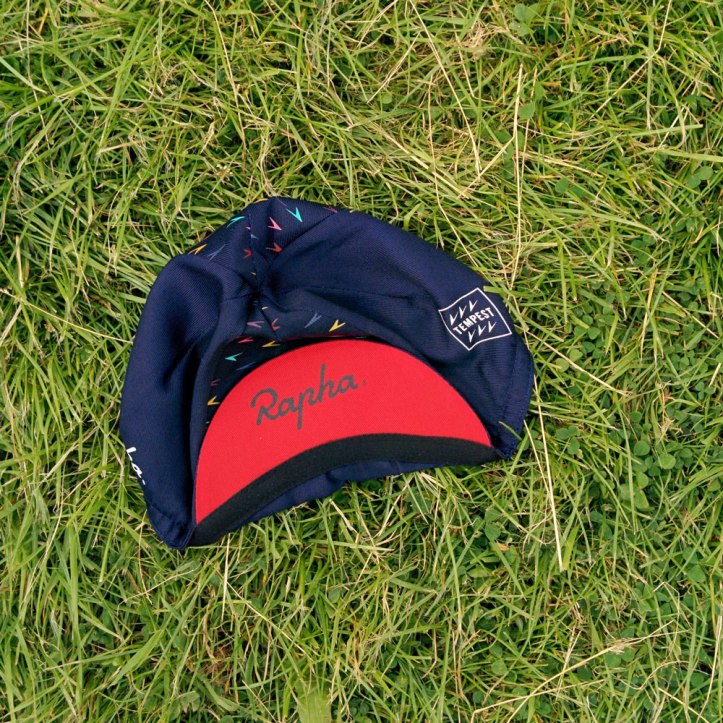 The Rapha Tempest cycling cap was a big hit at Le Tour Yorkshire. Photo © Zarina Holmes / GLUE