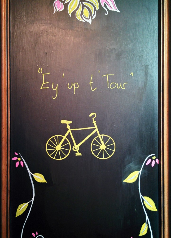 "Ey up! That's ""bonjour"" in Yorkshire. At The Bull Pub. Photo © Zarina Holmes / GLUE"