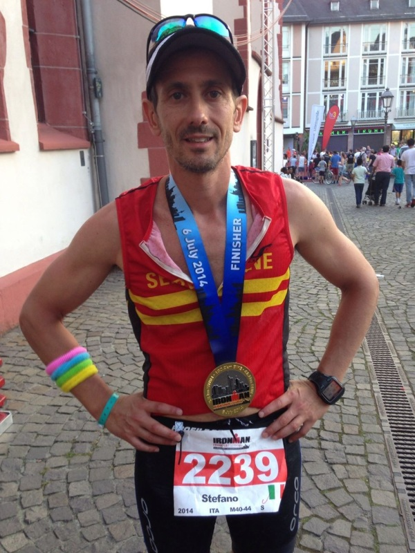 Pardi wants to do an Ironman again, once he recovers from this one.